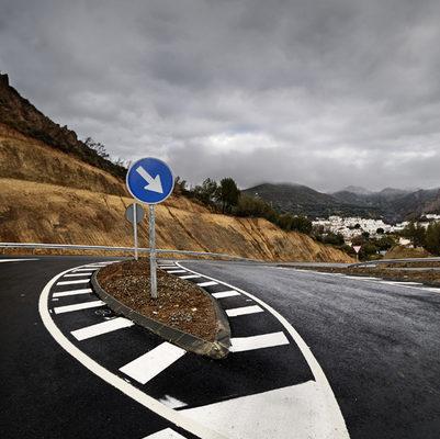 señalización vertical carretera