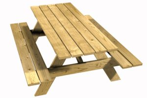 mobiliario urbano mesa recreo