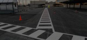 pintura de señalización parking