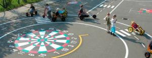 Señalización pistas polideportivas