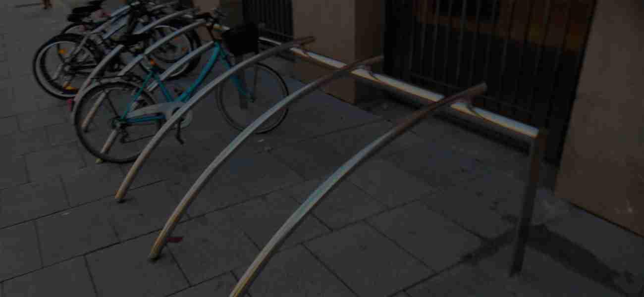 mobiliario urbano bicicletas