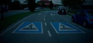 señalización peatones